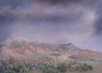 Landschap bij Veynes 1948