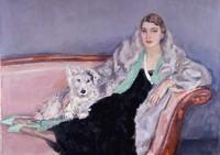 Portret van Ina van Blaaderen
