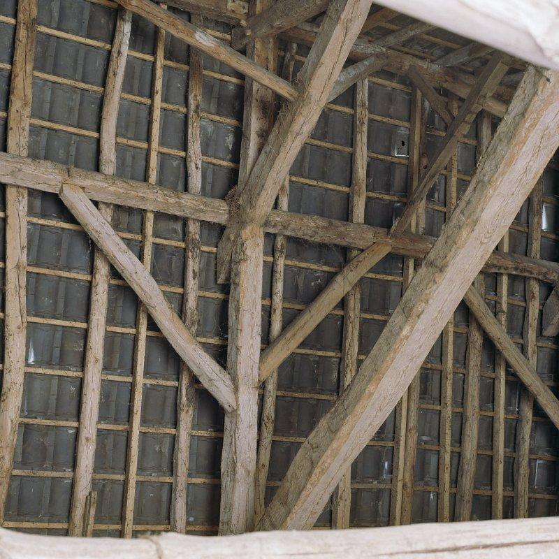 Interieur schuur detail kapconstructie limburgs erfgoed for Meerlo interieur