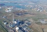Luchtfoto gedeelte havengebied Vlissingen-Oost, met zicht op de...
