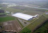 Glastuinbouwcomplex op de Axelse Vlakte