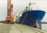 Zeeschip aan de Sloekade te Vlissingen-Oost.