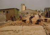 Graven van nieuwe sloten en aanleggen van afwatering industrieterrein...