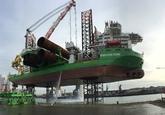 Platformschip Innovation in de Westhofhaven.
