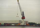 Outokumpu Steel Processing op de Axelse Vlakte. Foto gemaakt ten...