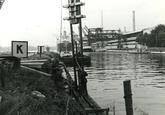 Vernieuwen damwand in zijkanaal C naar de Axelse Sassing.