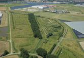Natuurgebied de Groene Knoop op de Axelse Vlakte. Aan de Autrichehaven...