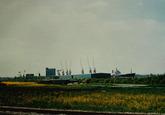 Terreinen nabij de Zevenaarhaven.