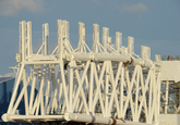 Scaldiahaven noordzijde met project opbouwen stinger voor heavy lift...