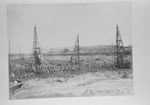 Reproductie van een foto uit omstreeks 1907 van de...