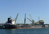 Zeeschip Canelo Arrow aan de Sloekade bij Verbrugge Terminals.