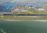 Kaloot en Kaloothaven te Vlissingen-Oost.