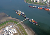Steiger bij Oiltanking