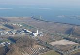 Luchtfoto van de Westelijke Kanaaloever Toekomstig terrein Mantenance...