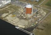 Bouw Suikerterminal Vlaeynatie aan de Autrichehaven