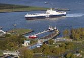 West Buitenhaven en Oost Buitenhaven van het  Sluizencomplex Terneuzen...