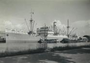 Zeeschip Astrida in de haven van Terneuzen.