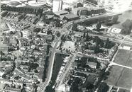 Kern Sas van Gent met Zijkanaal H. Op de achtergrond de Suiker Unie.