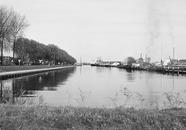 Zijkanaal B aan het Kanaaleiland Sluiskil.