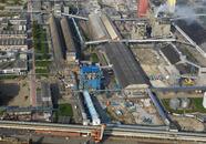 Nieuwbouw op het terrein van  YARA Sluiskil