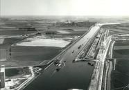 Werkzaamheden kanaalverbreding tussen de Zevenaarhaven en Sluiskil.