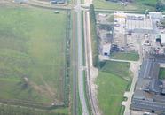 Gedeelte van de Finlandweg bij het bedrijventerrein aan de Axelse...