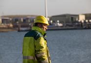 Medewerker van Verbrugge Terminals