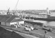 Overzichtsfoto van de Zuiderkanaalhaven. Waarschijnlijk genomen vanaf...