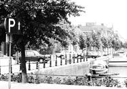 Oostkade aan Zijkanaal H te Sas van Gent.