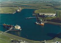 Luchtfoto gedeelte van de Quarleshaven en Westhofhaven.