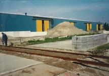 Aanleggen van een spooraansluiting naar de nieuw gebouwde loods 40 van...