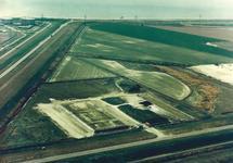 Luchtfoto omgeving Achterduinweg te Vlissingen-Oost.