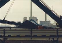 Kolentransportband bij de kolencentrale van EPZ.