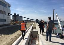 Aanleg kade Scheepswerf Reimerswaal