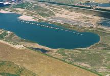 Luchtfoto van de aanleg Scaldiahaven 2e fase, ZSP-102.