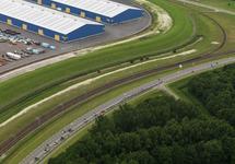 Wielerronde Ronde van Zeeland Seaports. Passage Europaweg-Oost.