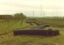 Aanleg 900 mm mantelbuis en 600 mm waterleidingbuis door Water...