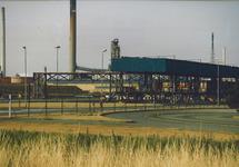Total Raffinaderij in het havengebied Vlissingen-Oost.
