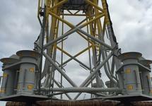 Offshore platform in de Bijleveldhaven
