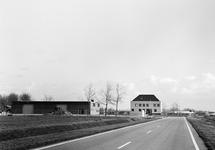 Werkplaats aan de Engelandweg en kantoor van het Havenschap Terneuzen...