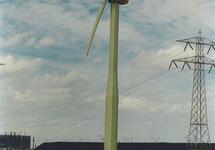 Windmolens in het havengebied Vlissingen-Oost van de Stichting...