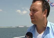Promotiefilm op CTV Zeeland rondvaarten in de Vlissingse haven, zomer...