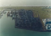Luchtfoto Kaloothaven te Vlissingen-Oost.