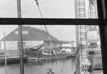 Werkzaamheden in de Zuiderkanaalhaven.