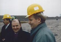 Eerste paal Outokumpu Steel Processing op de Axelse Vlakte 1993/1994