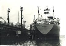 Zeeschip in de Braakmanhaven bij Dow Chemical.