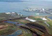 Valuepark Terneuzen met Braakmanhaven en Dow Chemical.