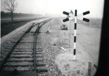 Spoorlijn in de omgeving van de Zevenaarhaven.