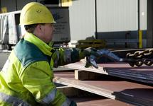 Hijswerkzaamheden laden en lossen bij Verbrugge Terminals