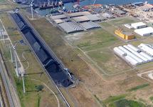Kolentransportband van de Kaloothaven naar de kolencentrale van EPZ.